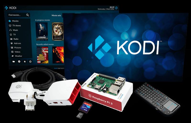 Raspberry pi 3 media center download