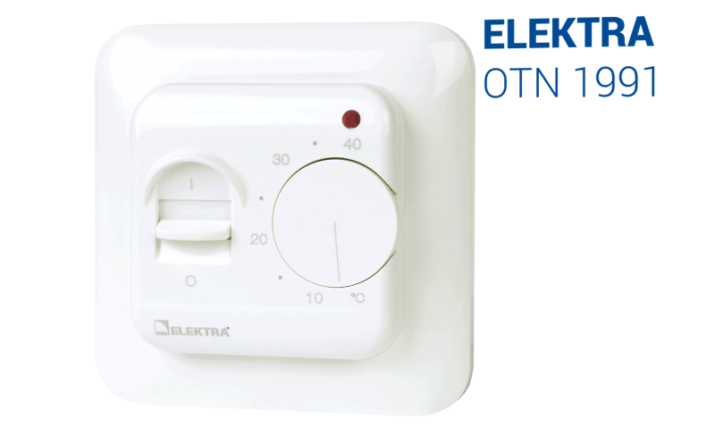 Elektra Otn 1991 Thermostat Manual Heat Controller