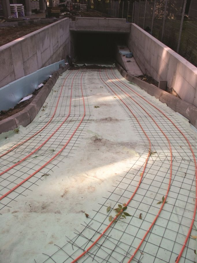 Electric Underfloor Heating Snow Melting Cable Roads