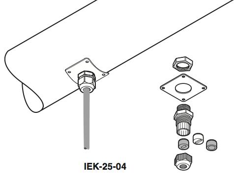 Raychem Insulation Entry Kit Iek 25 04