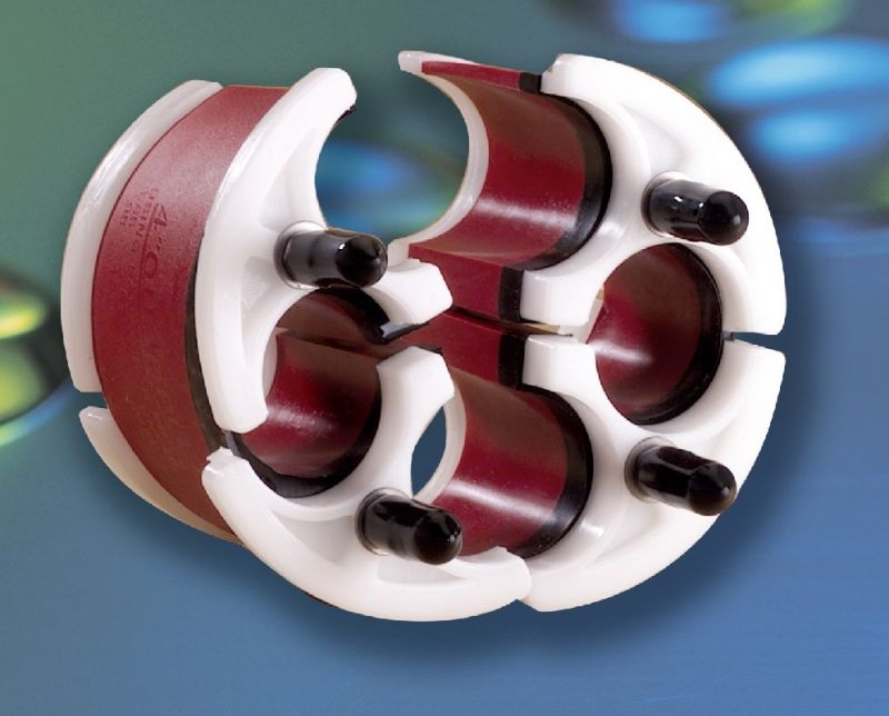 Quadplex duct plugs tyco