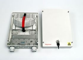 FIST-MB2-S Fiber Capacity Medium-Size Fiber Splicing and Termination Box wo door