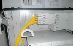Fiber Optic PLC Cabinet/Shelf Type Splitter