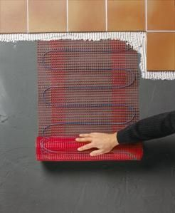 Raychem T2 Quicknet - Self adhesive constant wattage heating mats (90 or 160W/m2)