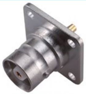 C Straight panel receptacle jack (jack) 1