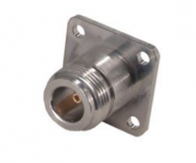 N Straight Panel Receptacle (jack) 6