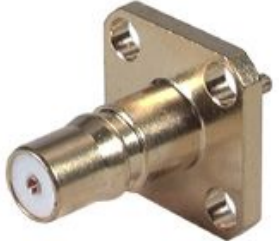 QMA Straight Panel Receptacle (plug) 1