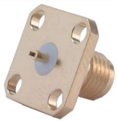 SMA Straight Panel Receptacle (jack) 16