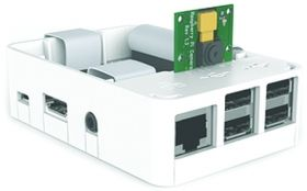 Raspberry Pi 2 & B+ White Case