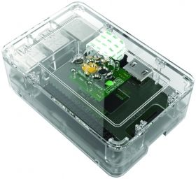 Raspberry Pi 2 & B+ Transparent Case