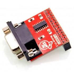 Raspberry Pi DP9 RS232 Adapter, 52Pi UART