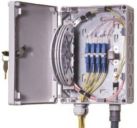 FIST-SB2-8 Max.8 Fiber Capacity Small Fiber Termination Box