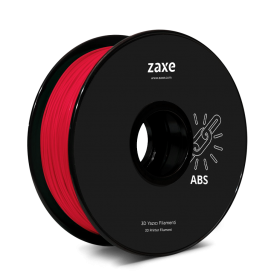 Zaxe Filament ABS Red