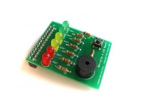 BerryClip - LED and Buzzer RPi Add-On Board