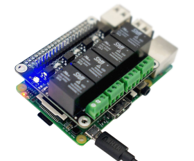 Turta Raspberry Pi 4 Channel Relay Board