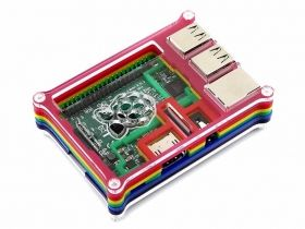 Raspberry Pi Rainbow Case - Type B