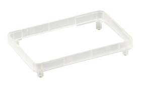 Raspberry Pi 2/3 Modular Clear White Spacer