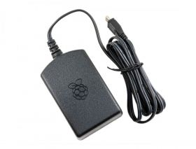 Raspberry Pi Official Power Adapter - 5.1V 2.5A (Black)