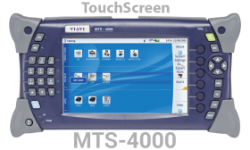 جهاز فحص للكبلات الضوئية Multiple Services Test Platform MTS-4000 TouchScreen