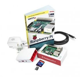Raspberry Pi 3 Mini Kit + Practice Book