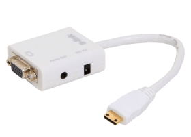 S-link SL-MHVS15 Mini-HDMI to VGA+Audio Çevirici
