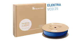 ELEKTRA VCD 25 W/m Snow and Ice Protection Underfloor Heating Cable