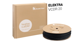 ELEKTRA VCDR 20 Heating Cable - Snow/Ice Protection for Roof and Gutter