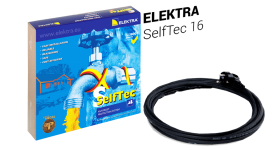 ELEKTRA SelfTec 16 Self-regulating Heating Cable - Pipe, Roof and Gutter Anti-frost Protection