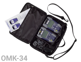 VIAVI OMK-34 Fiber Optik Enterprise Test Kit - Singlemode