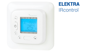 ELEKTRA IRcontrol Thermostat - Programmable Infrared Underfloor Heating Controller