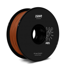 Zaxe Filament ABS Chocolate