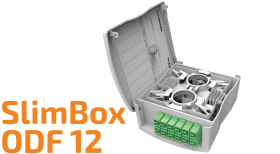 SlimbBox 12 Optical Distribution Frame