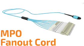 MPO Fan-Out Cord