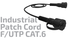 F/UTP CAT.6 Shielded Industrial Copper Patch Cord