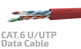 Cat.6 F/UTP 23AWG x4P Data Kablosu