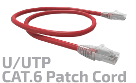 U/UTP CAT. 6 Copper Patch Cord