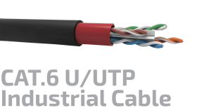 CAT.6 U/UTP 23AWG x4P Industrial Data Cable
