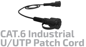 U/UTP CAT.6 Industrial Patch Cord