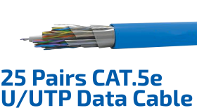 CAT.5e U/UTP 24AWG x 25P Data Kablosu