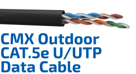 CMX Outdoor CAT.5e U/UTP Data Cable