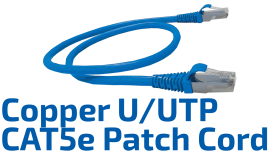 CAT.5e U/UTP Copper Patch Cord