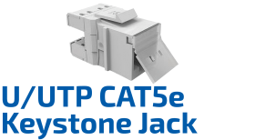 CAT.5e  Keystone Jack