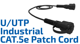 CAT.5e U/UTP Industrial Patch Cord