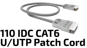 110 IDC U/UTP Patch Cord