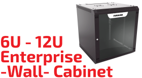 6U/12U Enterprise Wall Cabinet