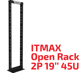 "ITMAX Open Rack 2P 19"" 45U"