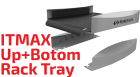 ITMAX Up and Bottom Rack Tray