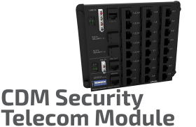 Security Telecom Module - CDM