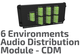Stereo Audio Distribution Module - CDM