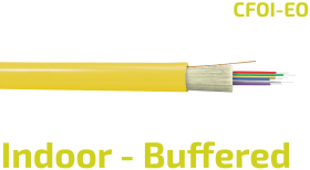 CFOI-EO Buffered Indoor Fiber Optic LAN Cable